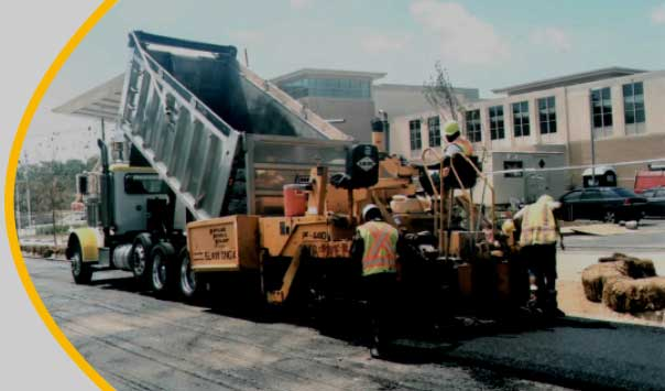 Tyson's Construction street paving