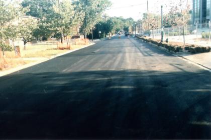 Asphalt Paving Street Parking Lot Construction